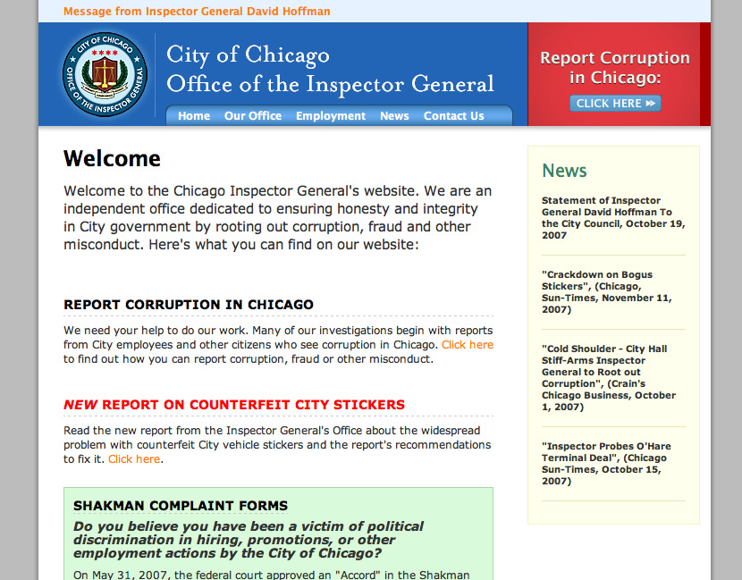 Chicago Inspector General
