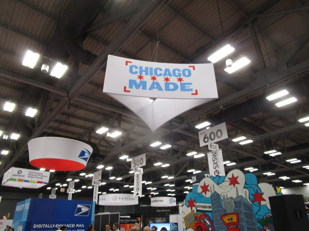 Chicago Made Booth at SXSW