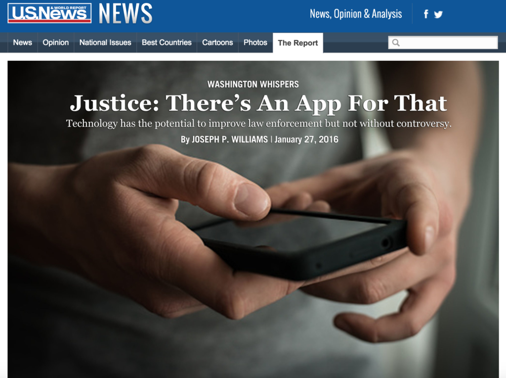 Justice there's an app for that