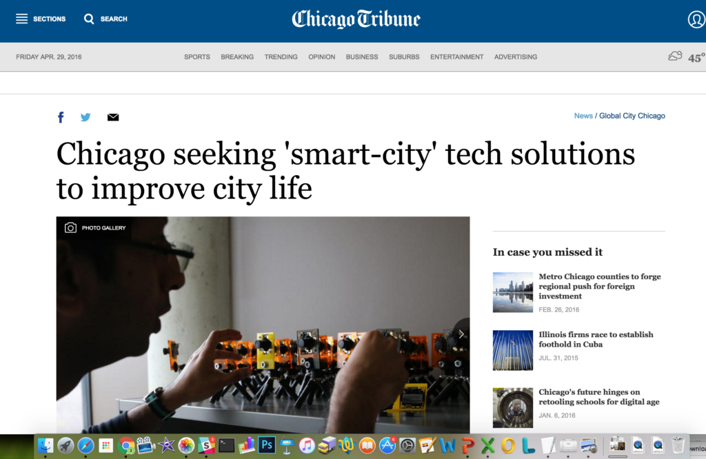 Smart City Chicago Tribune